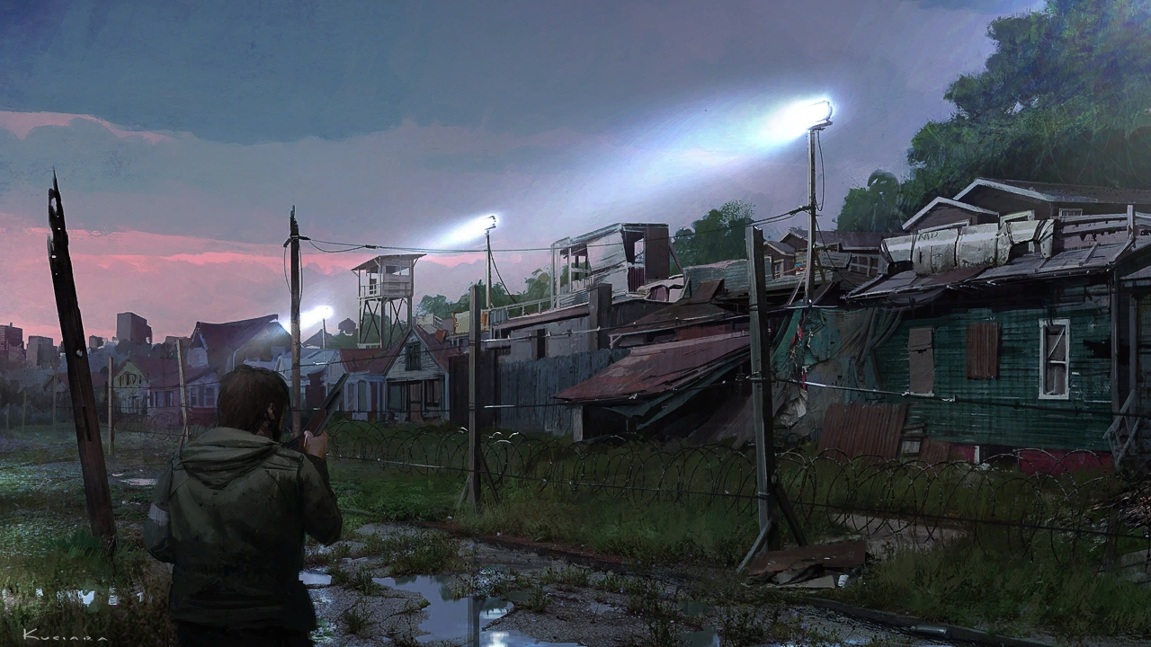 gallery1_psarc tommy-wall.jpg - Last of Us, the Арт