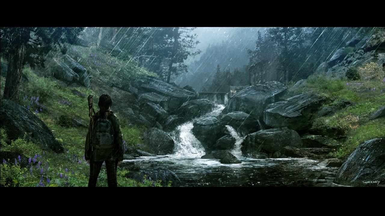 gallery1_psarc waterfall.jpg - Last of Us, the Арт