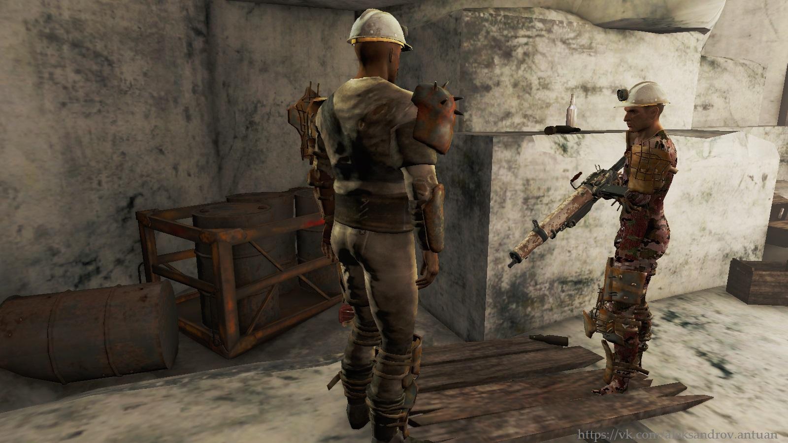 """Из серии """"Рейдеры Содружества"""". - Fallout 4 Данвичские бурильщики, рейдер"""
