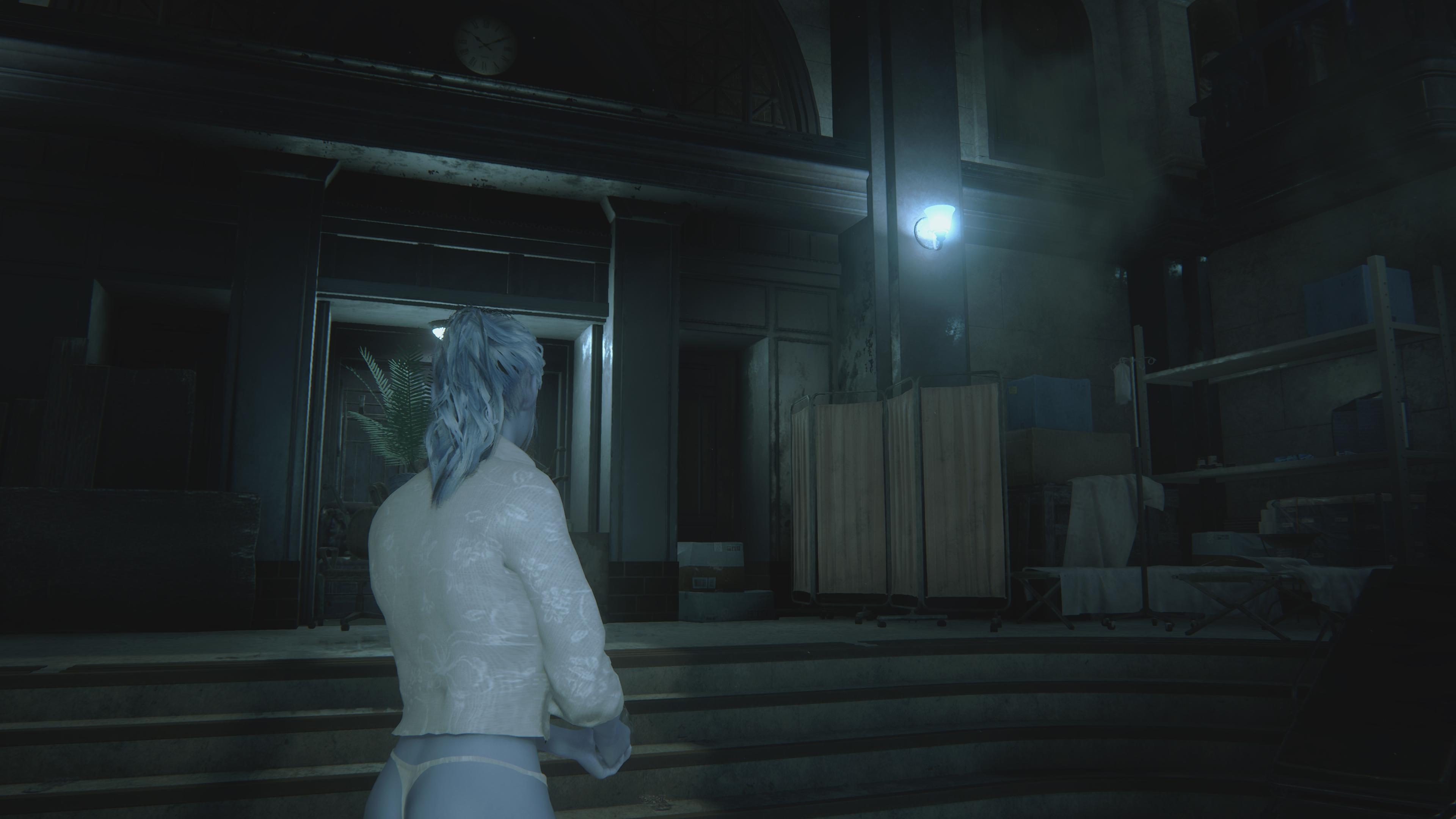 RESIDENT EVIL 2 / BIOHAZARD RE:2 Claire Heaven's Angel mod 4k ultra graphics rtx - Resident Evil 2