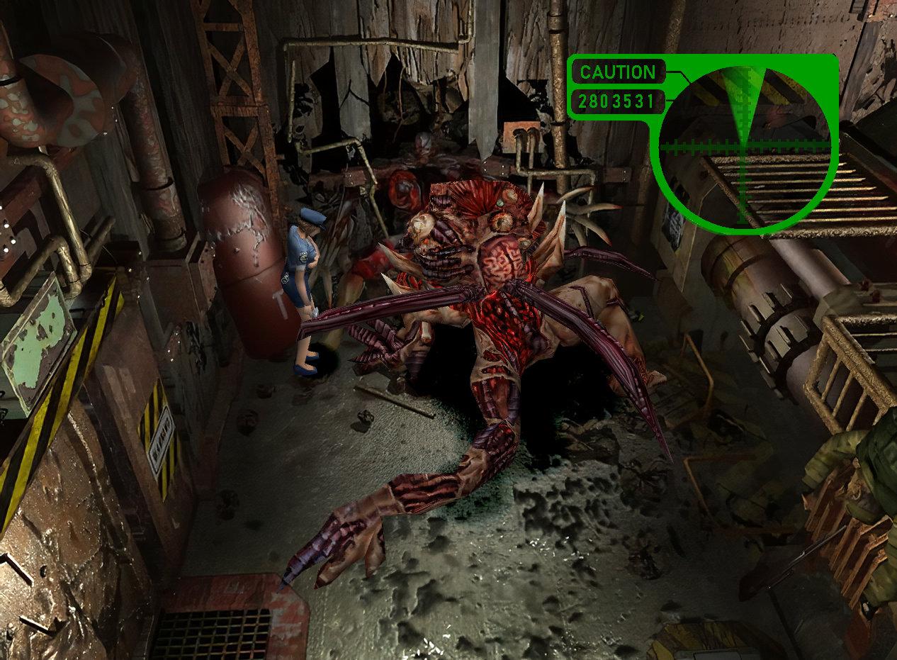 HD Seamless Project 1.0 - Resident Evil 3: Nemesis