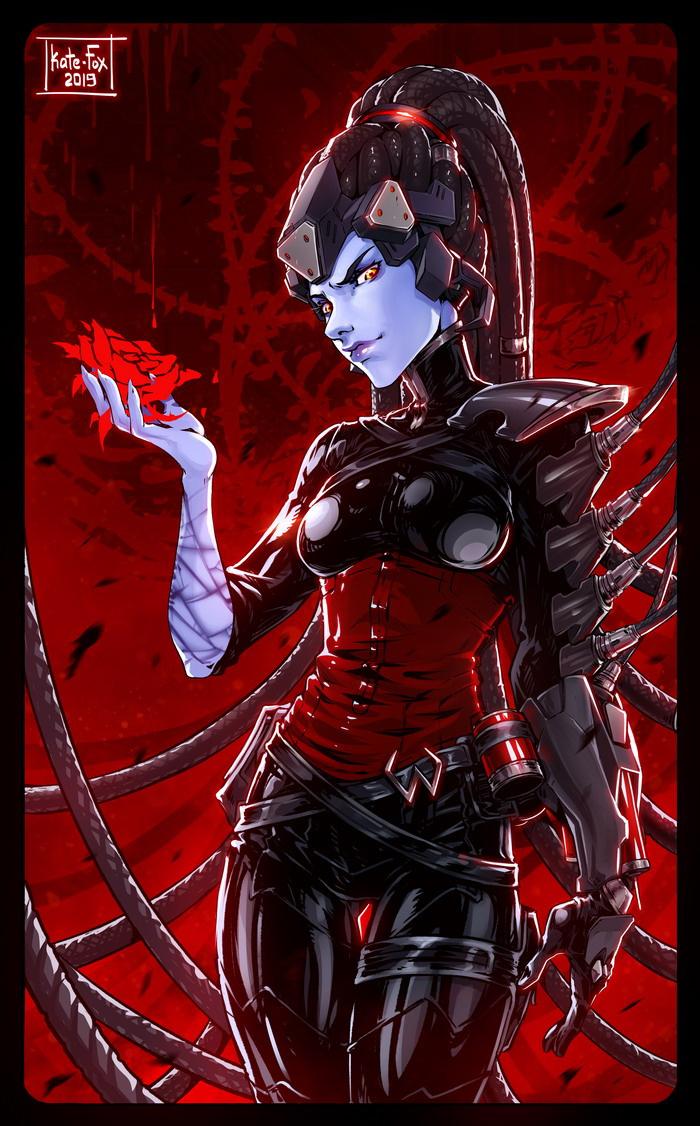 Kate-FoX-artist-Widowmaker-Overwatch-5318157.jpeg - Overwatch