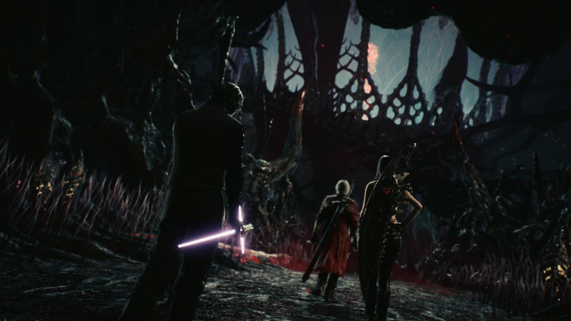 Костюм и меч Кайло Рена - Devil May Cry 5
