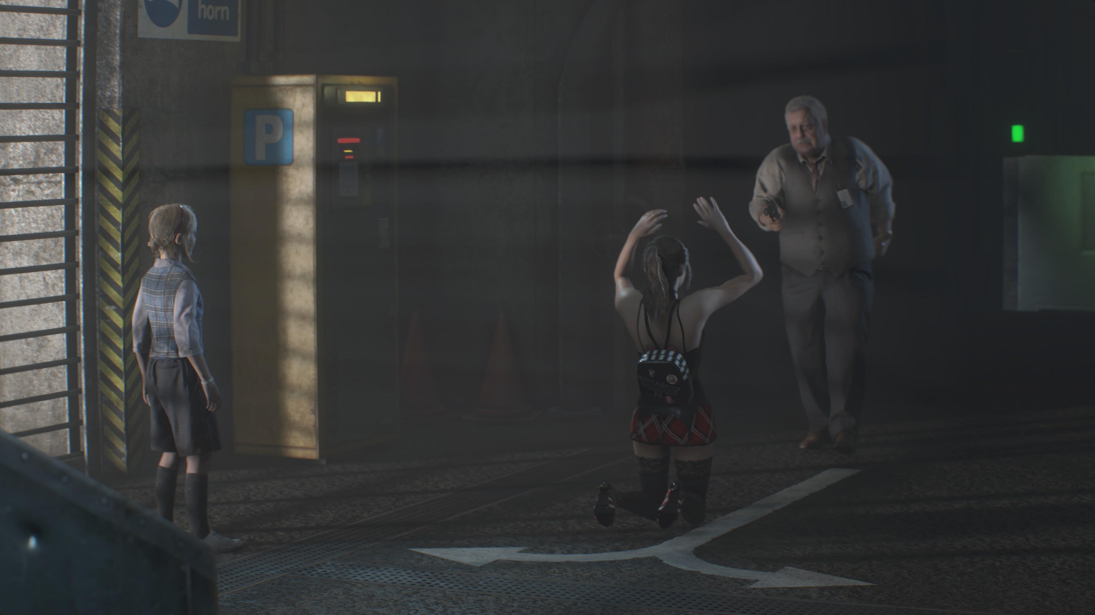RESIDENT EVIL 2 / BIOHAZARD RE:2 Claire College girl 4k ultra graphics rtx - Resident Evil 2