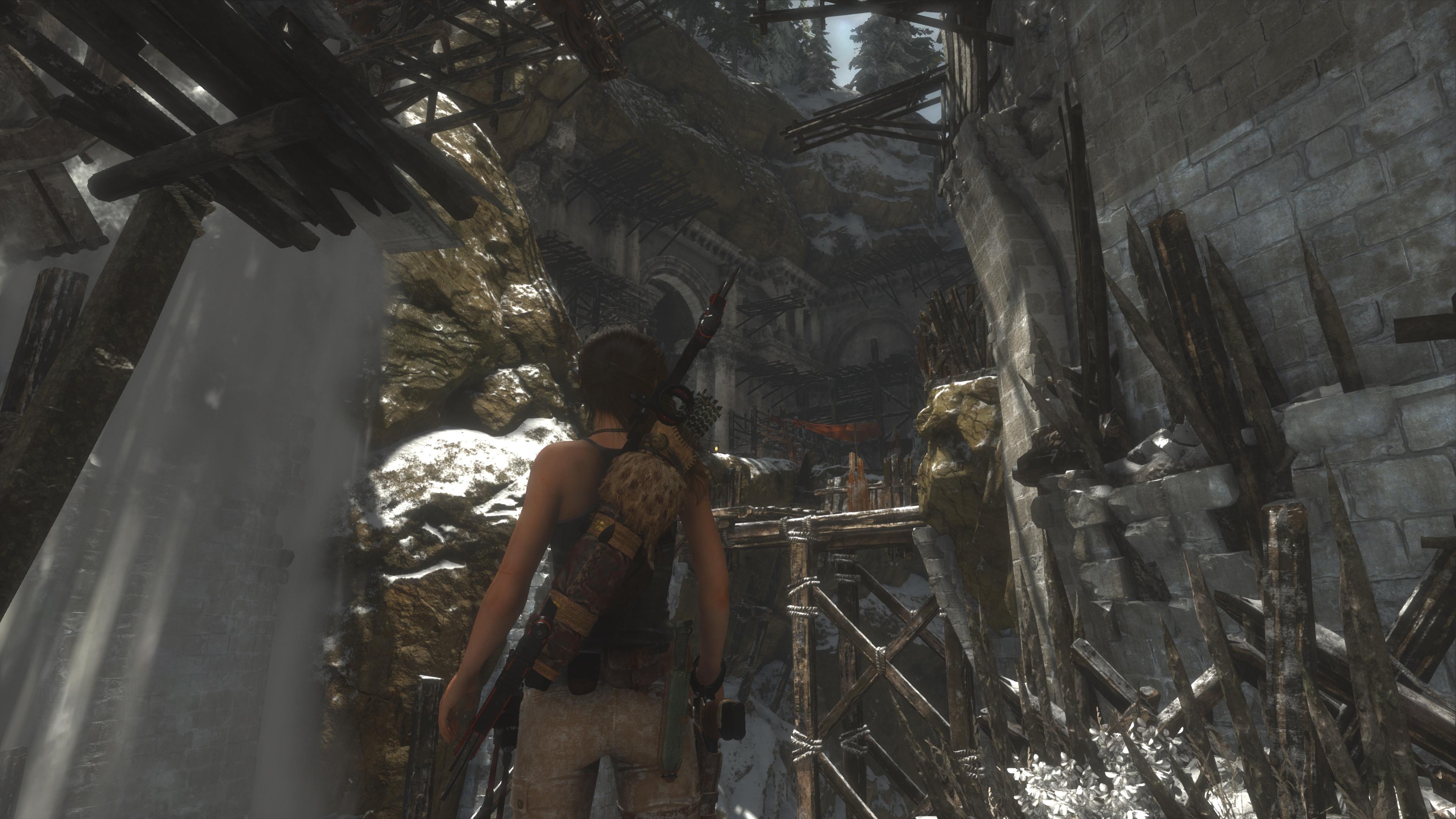 Rise of the Tomb Raider скриншот с Xbox One X - Rise of the Tomb Raider Лара Крофт