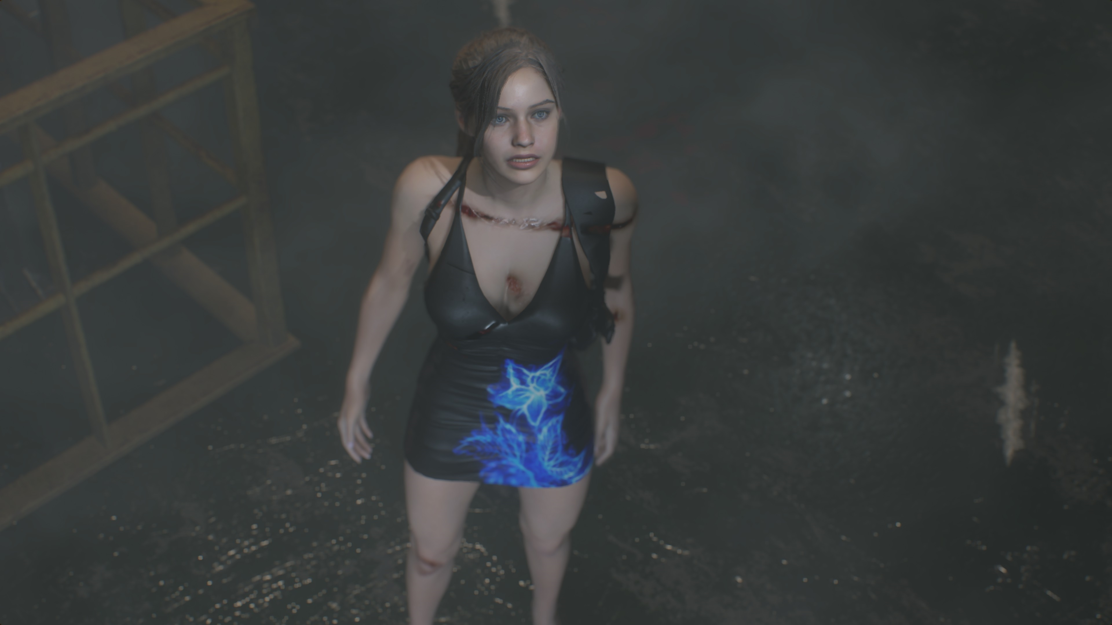 RESIDENT EVIL 2 / BIOHAZARD RE:2 Claire Queen Of Attraction mod - Resident Evil 2