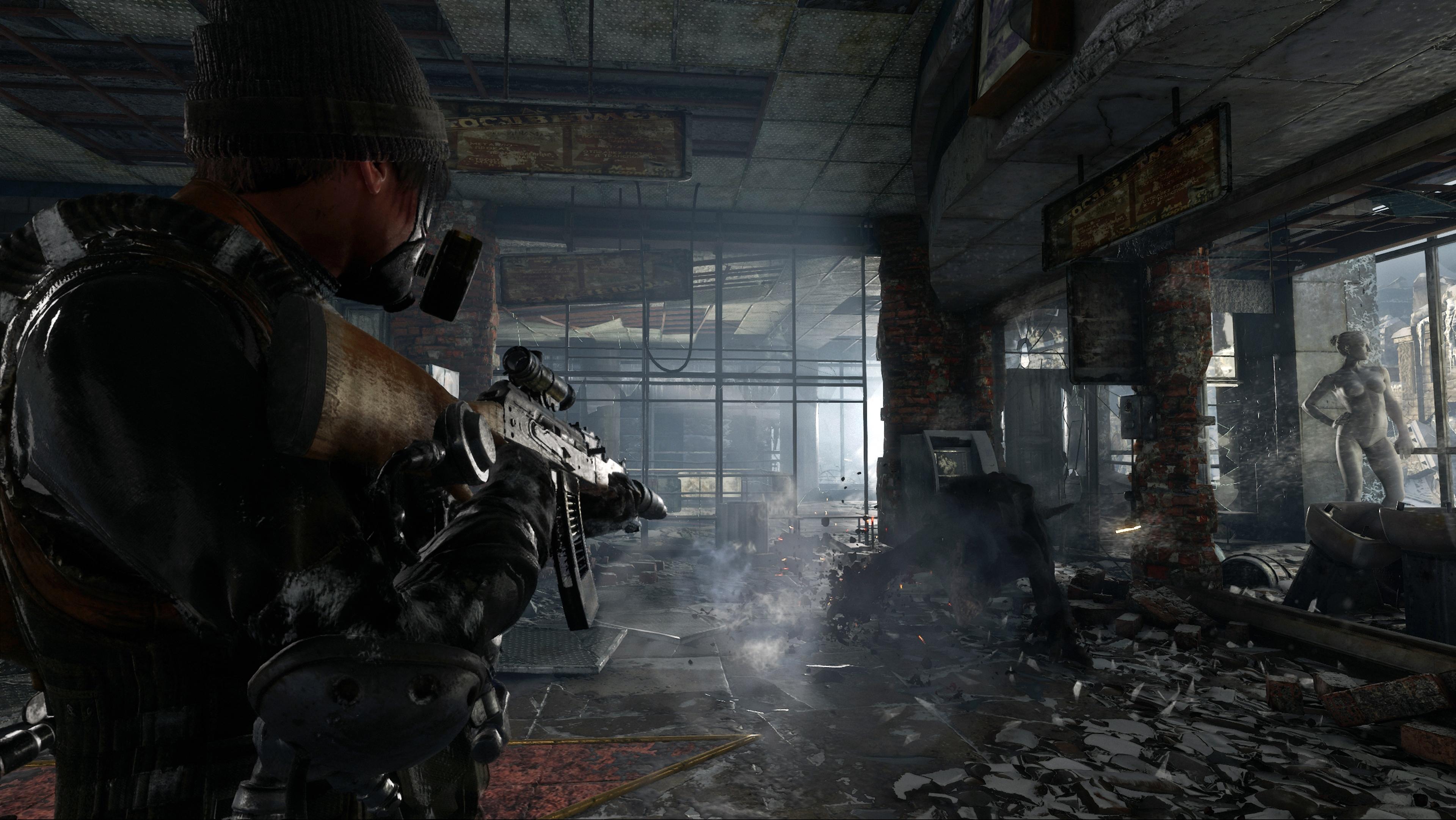 Metro Exodus скриншоты с Nvidia GeForce RTX 2080 - Metro Exodus
