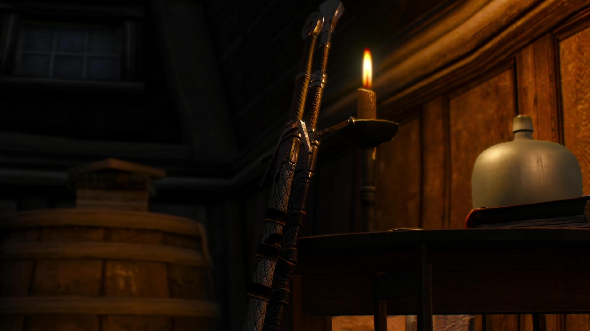 Корабль, свеча, да 2 меча - Witcher 3: Wild Hunt, the