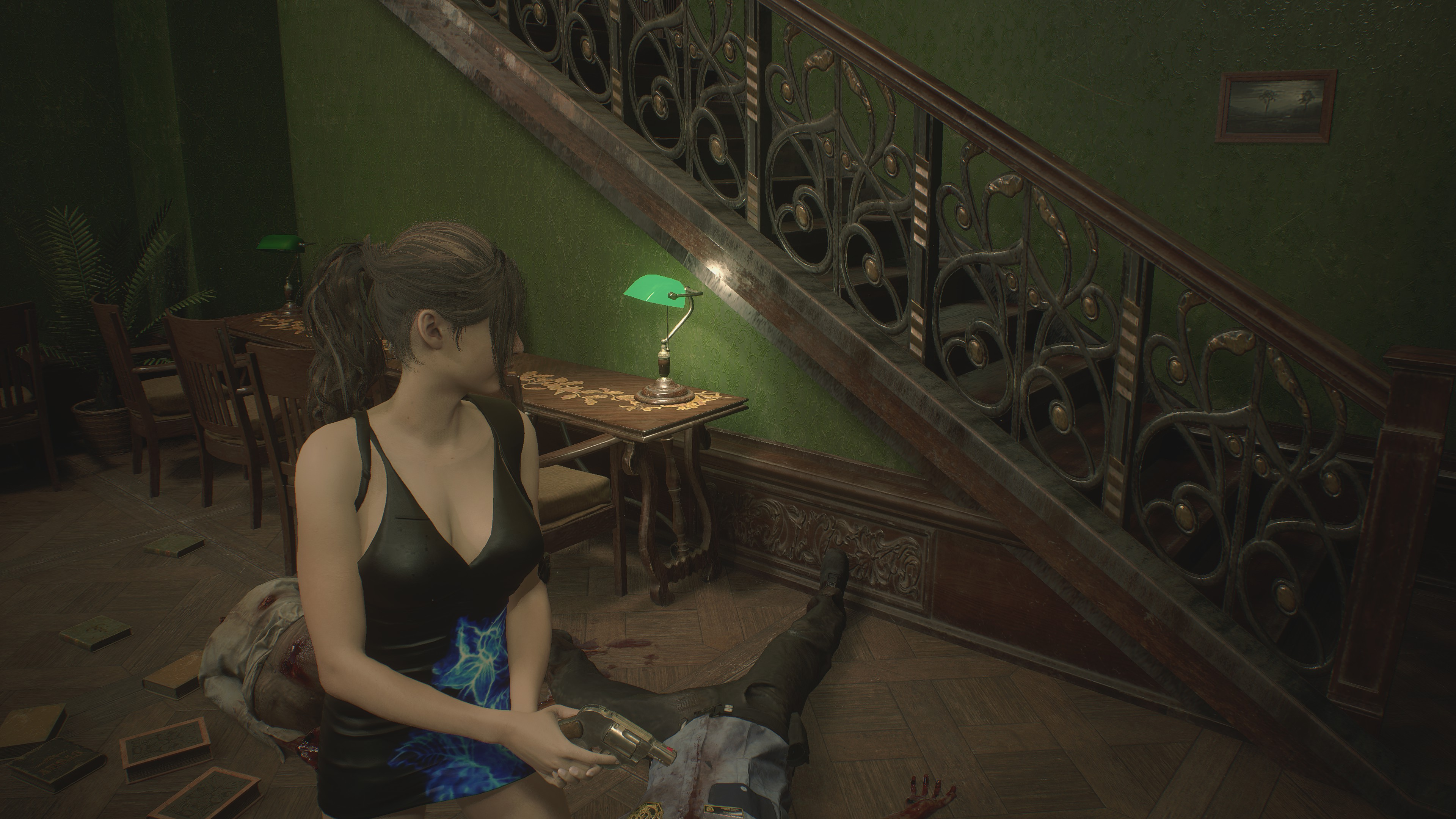 RESIDENT EVIL 2 / BIOHAZARD RE:2 Claire Queen Of Attraction mod 4k ultra graphics rtx - Resident Evil 2