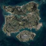 PLAYERUNKNOWN'S BATTLEGROUNDS утёкшая карта «Эрангеля»