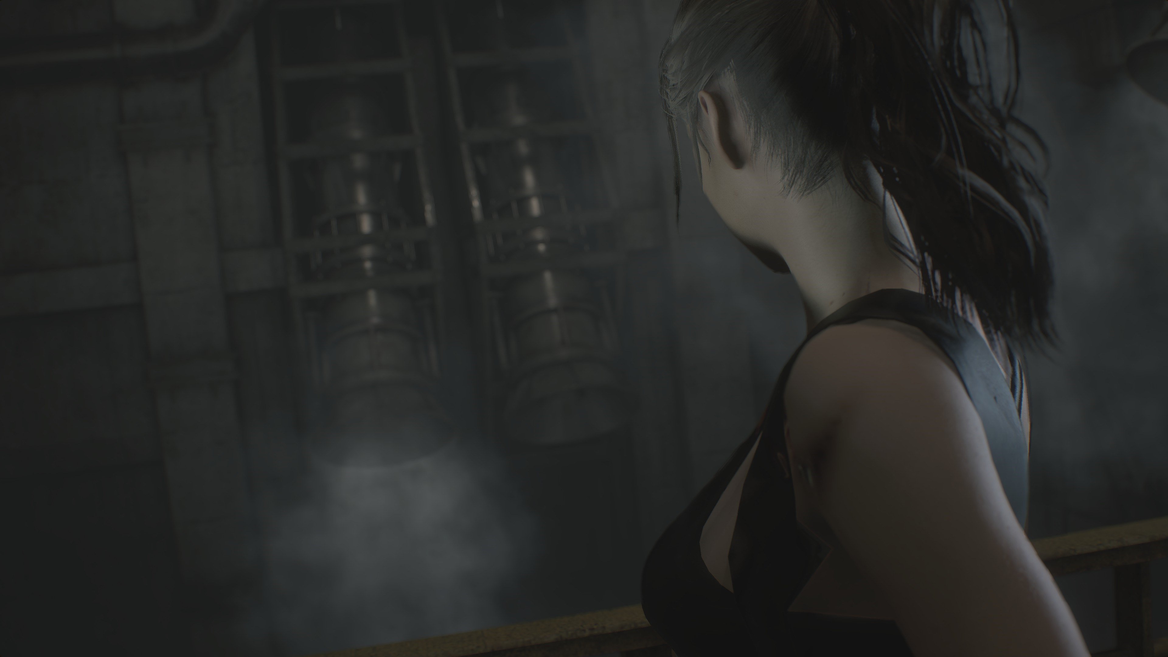 RESIDENT EVIL 2 / BIOHAZARD RE:2 Claire College girl mod ultra graphics rtx - Resident Evil 2