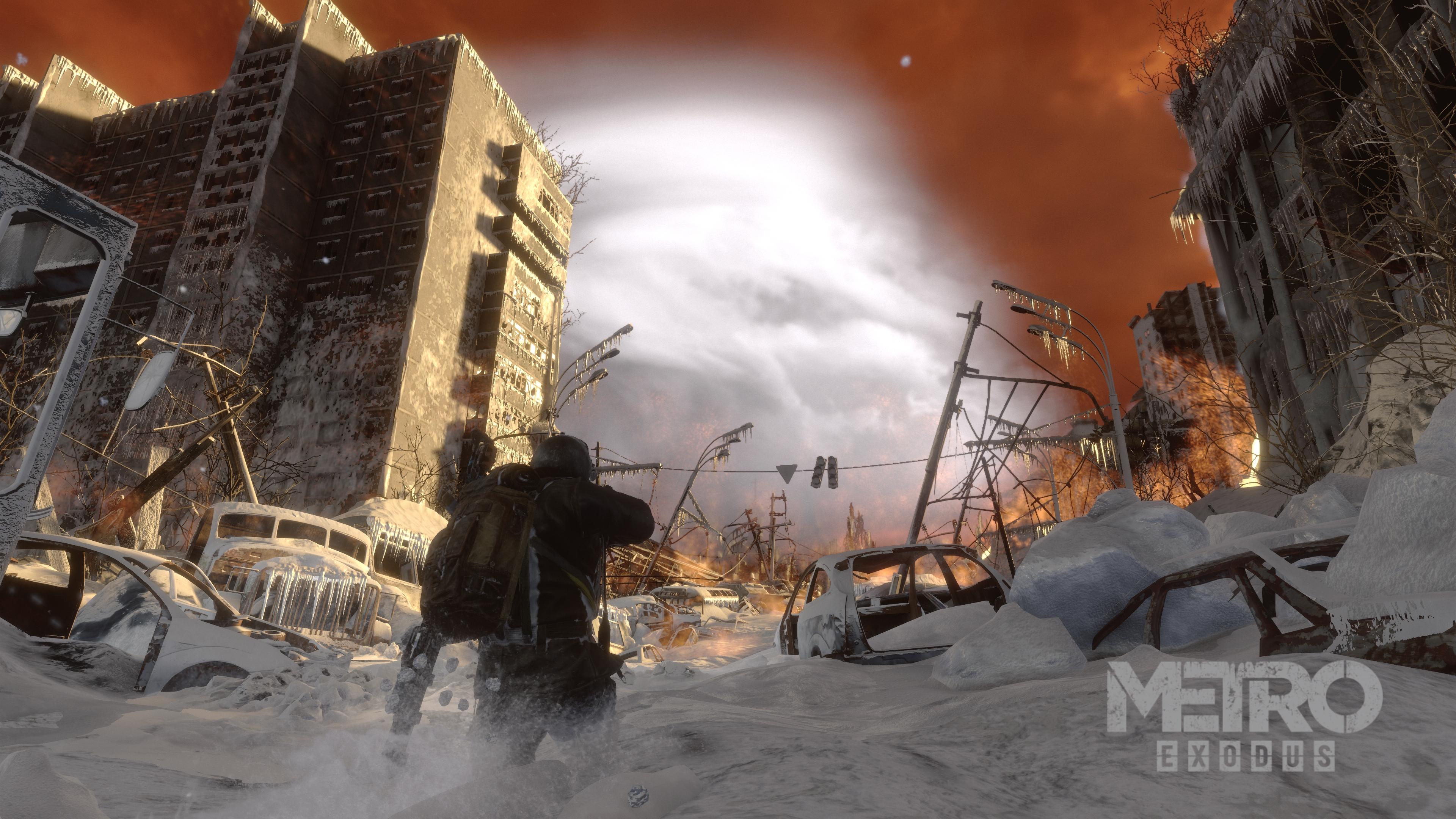 Жуткие развалины Новосибирска в игре Metro Exodus Скриншоты с Xbox One X - Metro Exodus