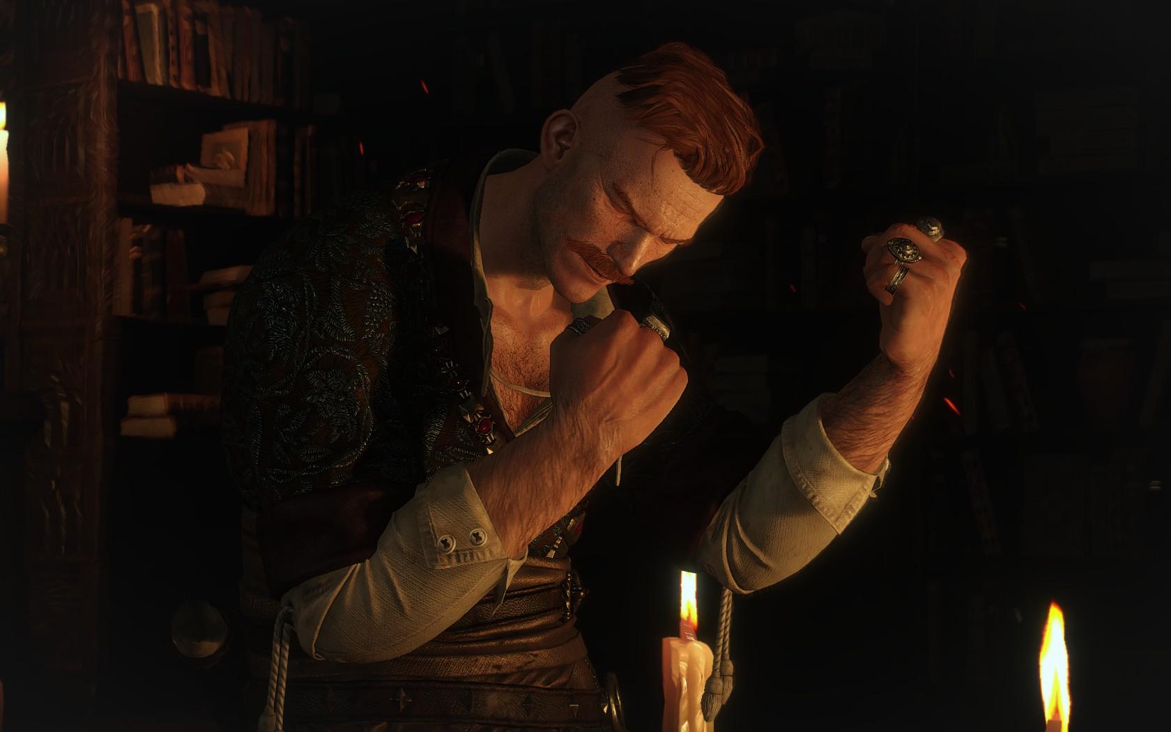 Твоё лицо, когда Геральт отгадал загадку мистера Зеркало - Witcher 3: Wild Hunt, the