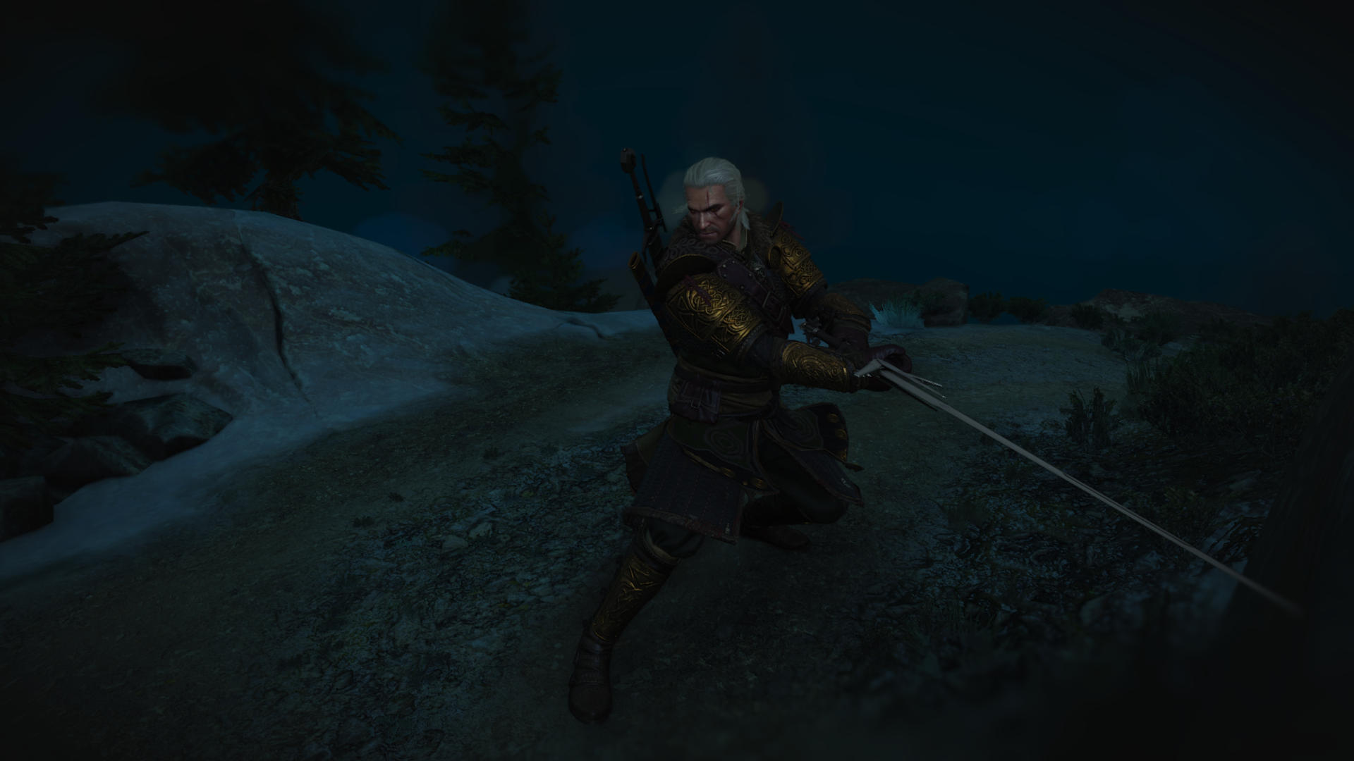 Geralt sword - Witcher 3: Wild Hunt, the