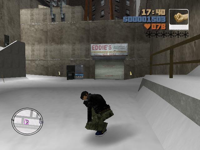 возможность приседать - Grand Theft Auto 3