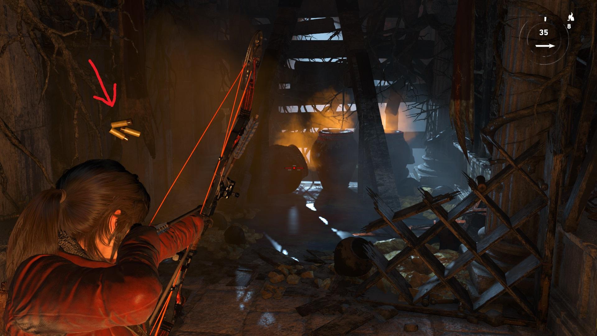 баг с патронами - Rise of the Tomb Raider