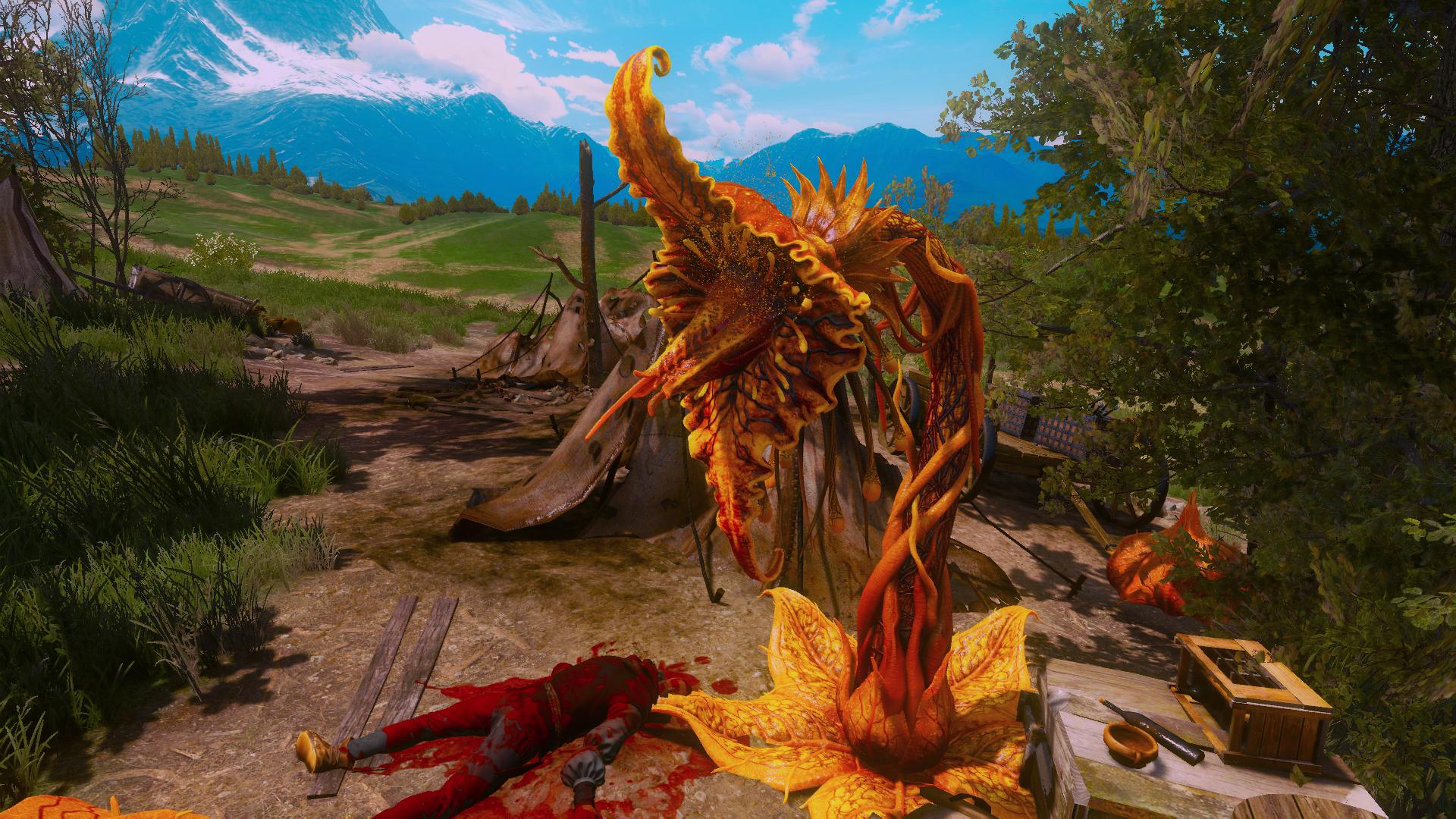 Spor - Witcher 3: Wild Hunt, the