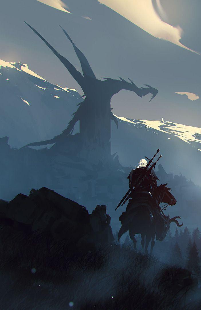 witcher-фэндомы-art-Geralt-5360226.jpeg - Witcher 3: Wild Hunt, the