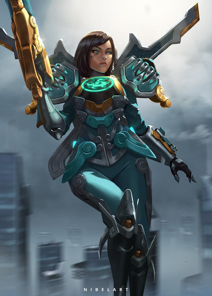 Pharah-Overwatch-Blizzard-фэндомы-5351753.jpeg - Overwatch
