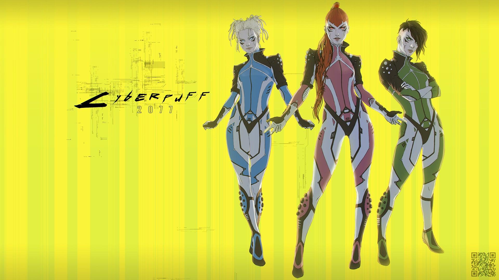 Cyberpunk-2077-Игры-Powerpuff-Girls-Cartoon-Network-5374608.jpeg - Cyberpunk 2077