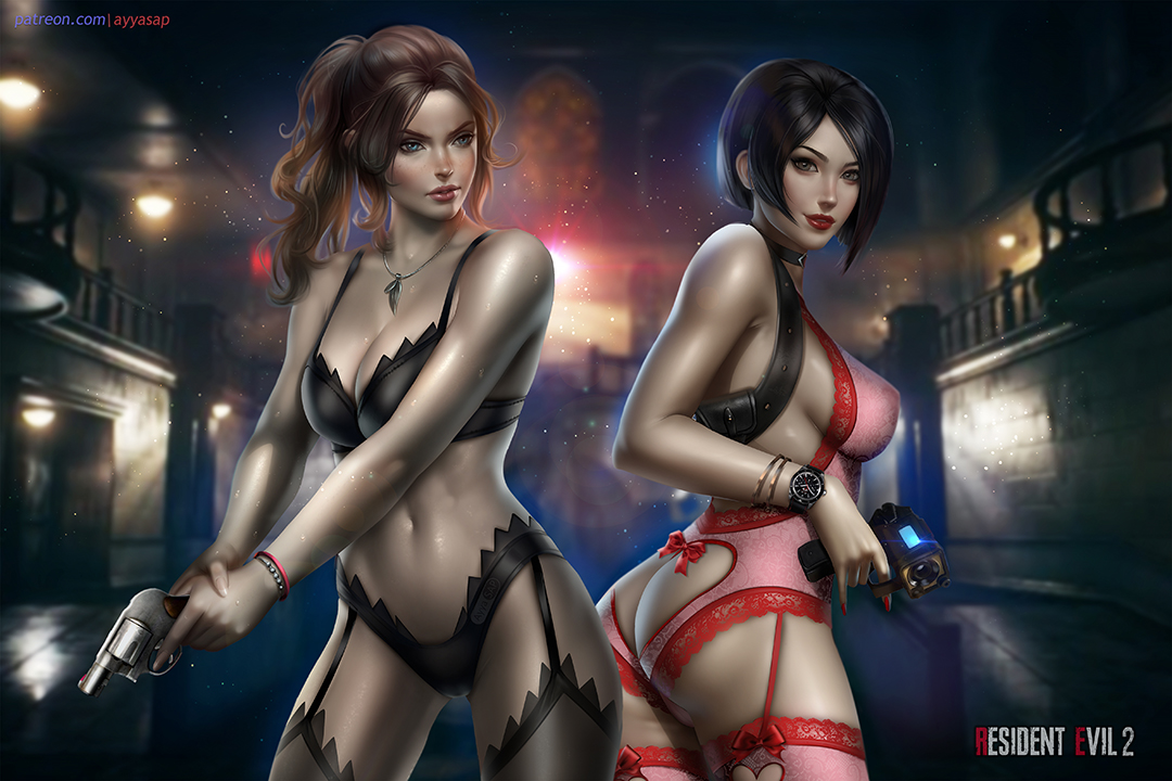 Ada Wong and Claire Redfield - Resident Evil 2