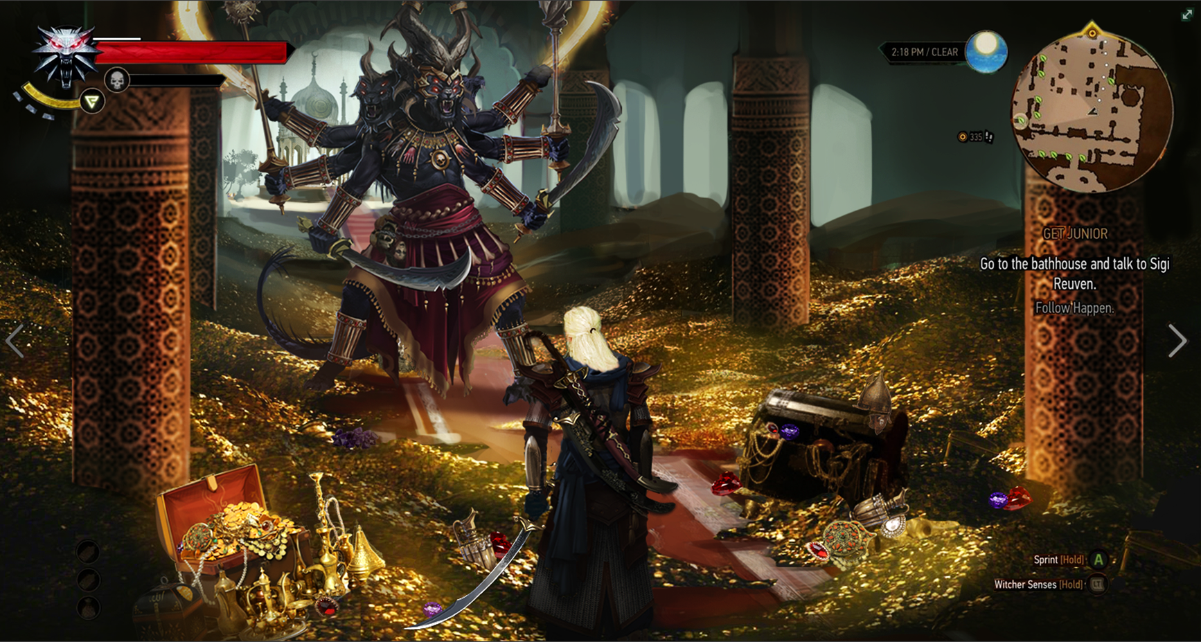 фейкшот - Witcher 3: Wild Hunt, the