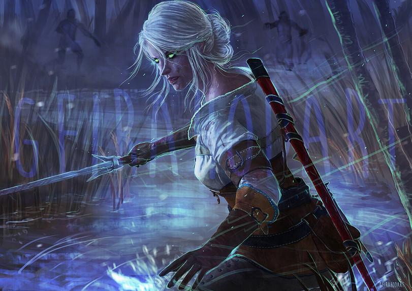 Цири-Witcher-Персонажи-The-Witcher-фэндомы-5383406.jpeg - The Witcher 3: Wild Hunt