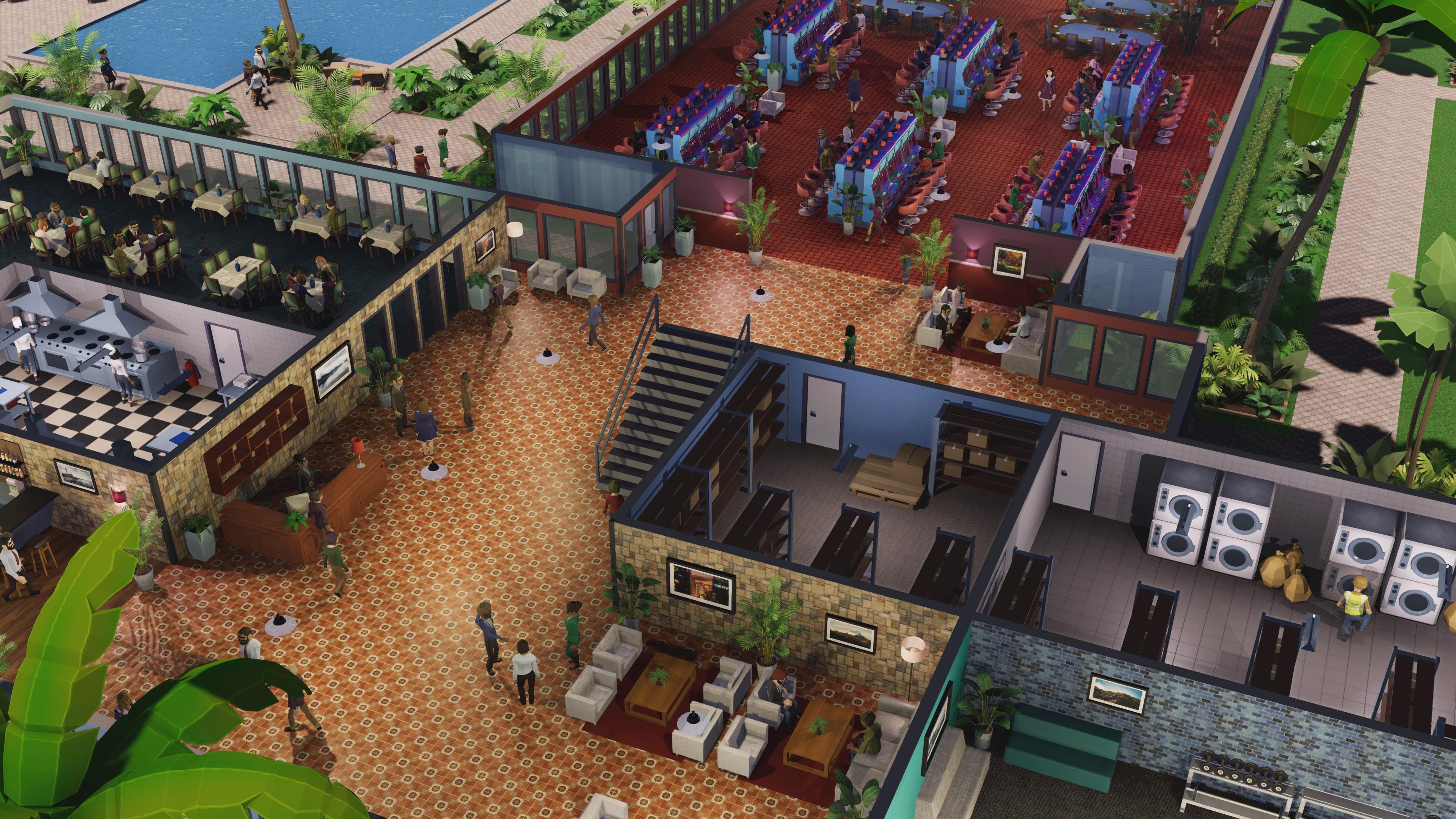 Геймплей - Hotel Magnate