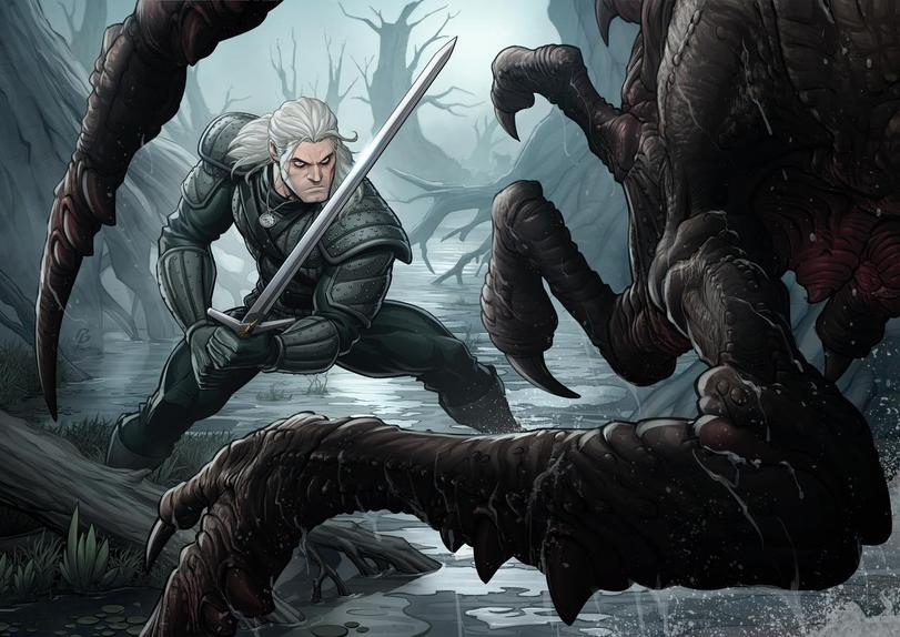 The-Witcher-фэндомы-Geralt-of-Rivia-Witcher-Персонажи-5391042.jpeg - Witcher 3: Wild Hunt, the
