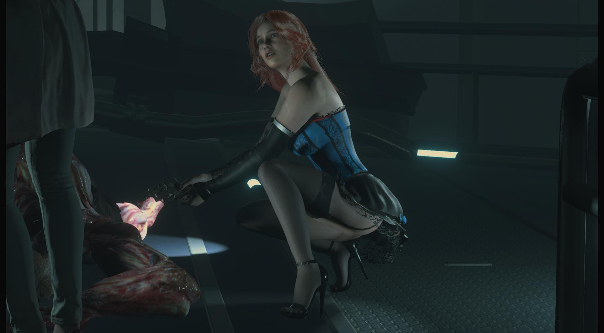 Очаровательная Клэр Редфилд - Resident Evil 2