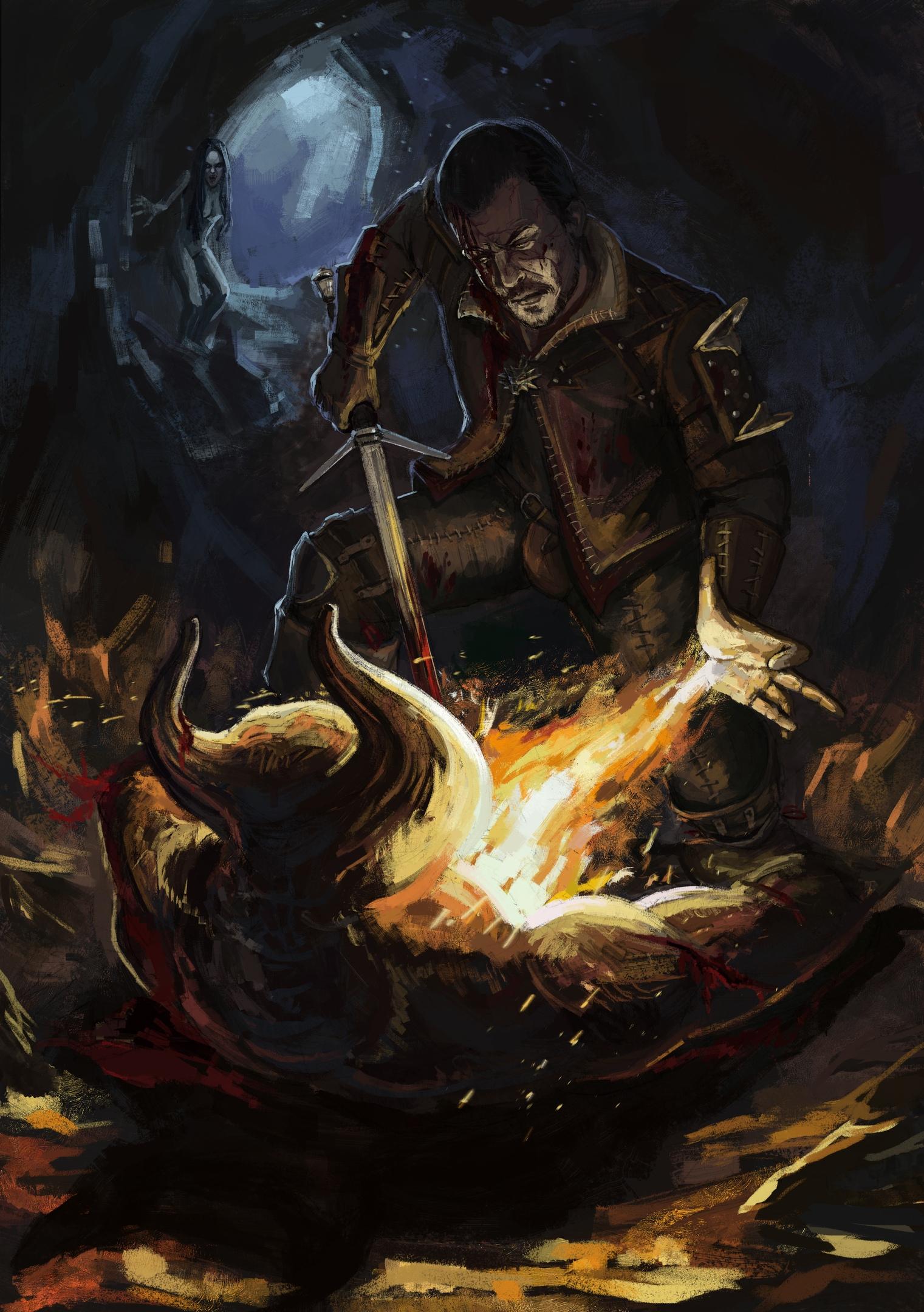 Хер Моржовый в деле - Witcher 3: Wild Hunt, the