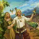 Witcher 3: Wild Hunt Вивиенна и рыцарь