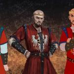 Witcher 3: Wild Hunt Радик в разных стилях