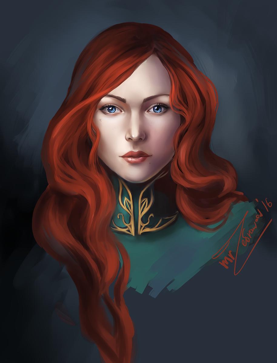 triss_merigold_by_mrzebrawood-da4yxjt.png - Witcher 3: Wild Hunt, the