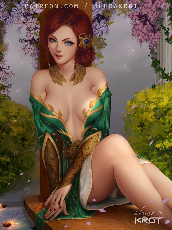 triss_merigold_by_shurakrgt-dcibs7b (1).jpg - The Witcher 3: Wild Hunt Арт, Трисс