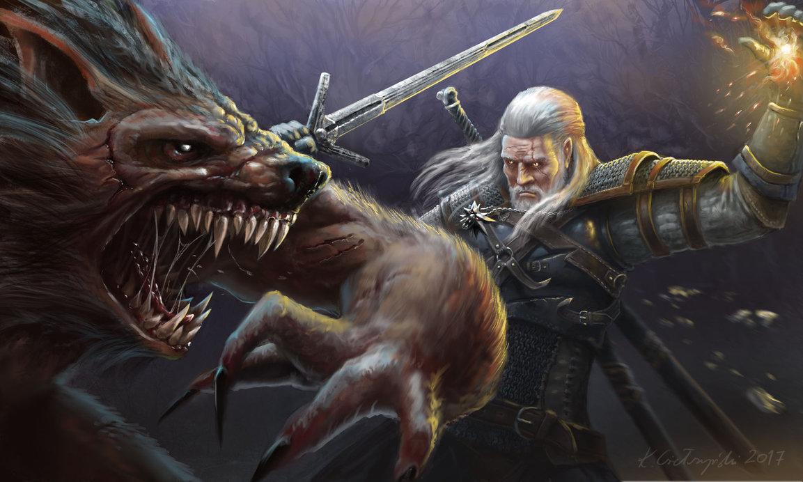 bad_move_by_gielczynski-db08ycf.jpg - Witcher 3: Wild Hunt, the
