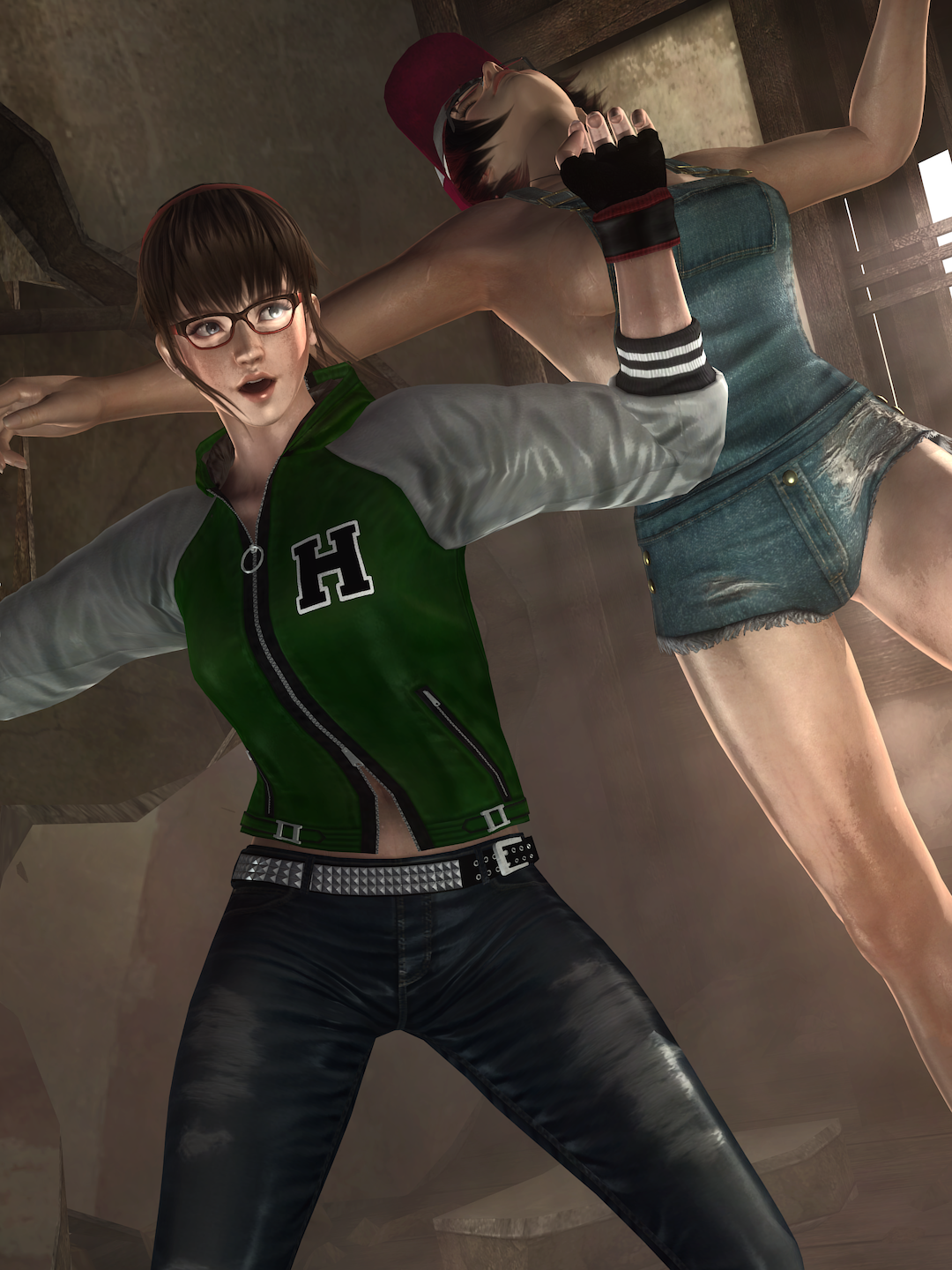 sneakattack.png - Dead or Alive 5: Last Round