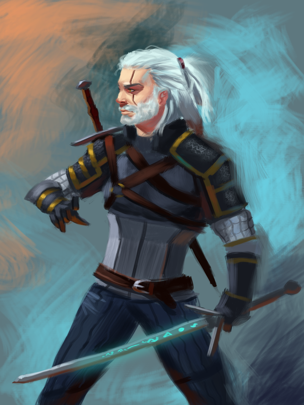geralt_of_rivia_by_zenbuffalo-db127ht.png - Witcher 3: Wild Hunt, the