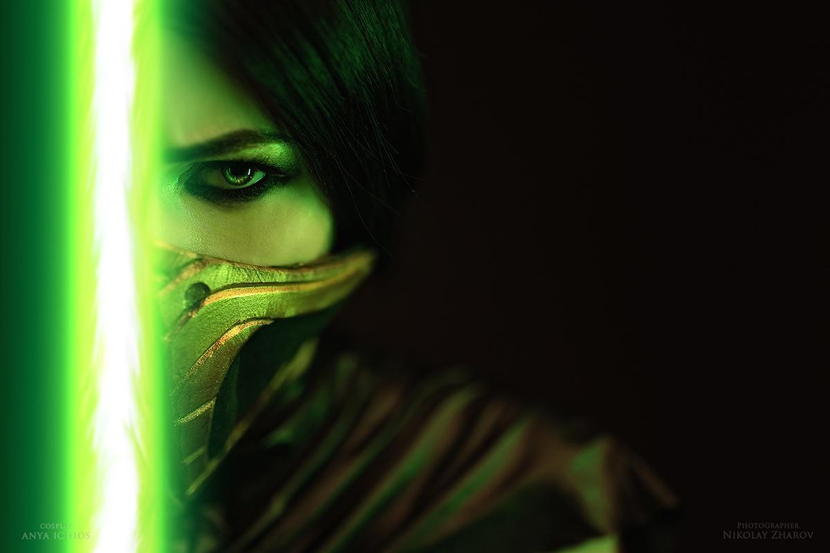 Роковые красотки Джейд и Скарлет: фантастический косплей Mortal Kombat 11 - Mortal Kombat 11