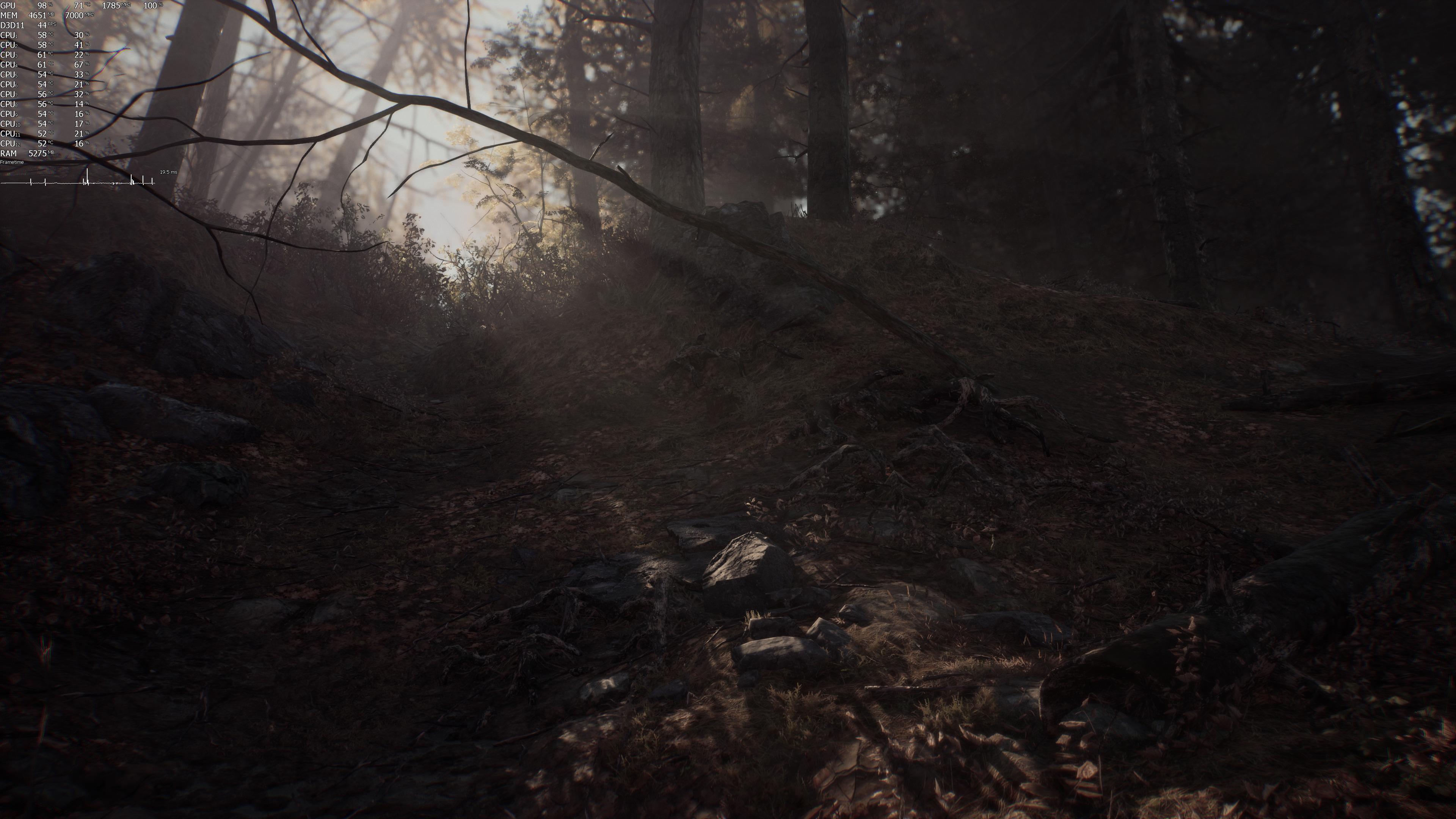 Максимальные настройки графики (4K) - Blair Witch (2019)