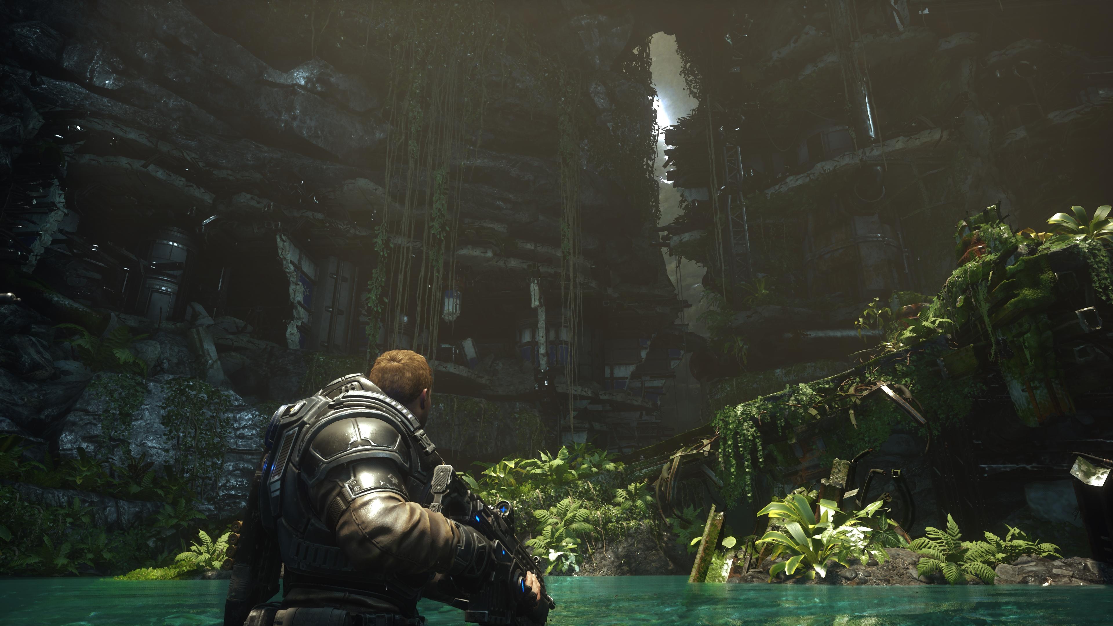 Gears 5 скриншот с Xbox One X - Gears 5