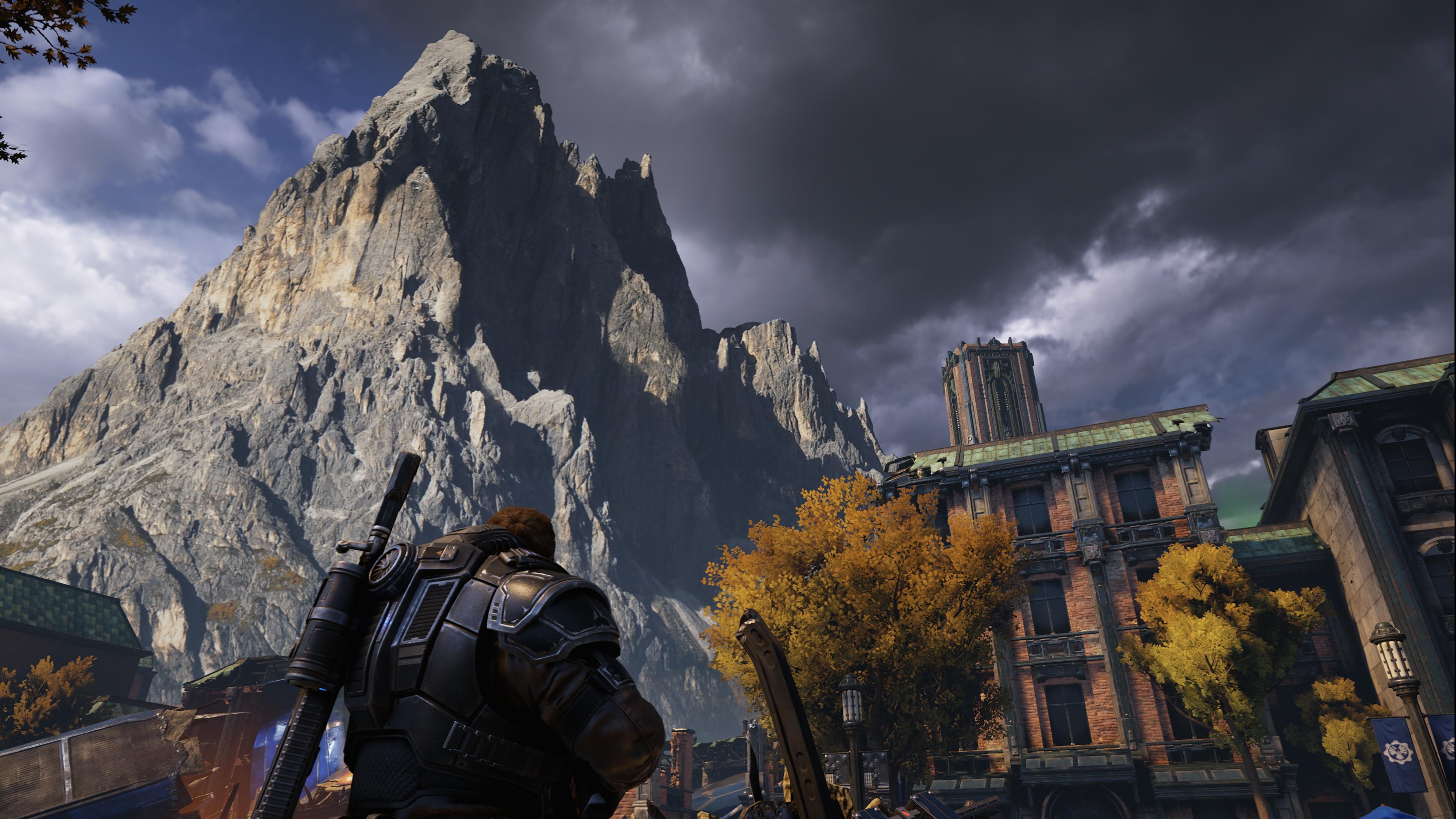 Gears of War 5 скриншот в 4к ultra графике c Nvidia GeForce RTX 2080 - Gears 5