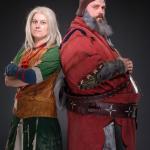 Witcher 3: Wild Hunt косплей Барона и жены