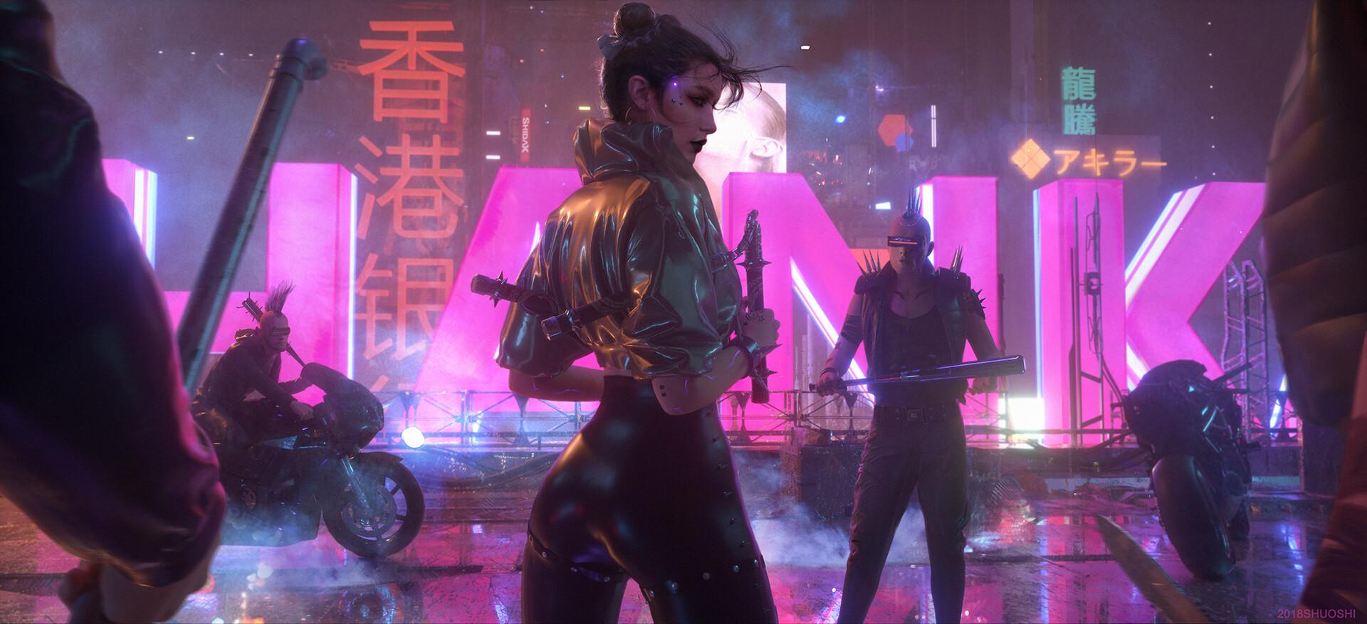 by shuo SHI - Cyberpunk 2077
