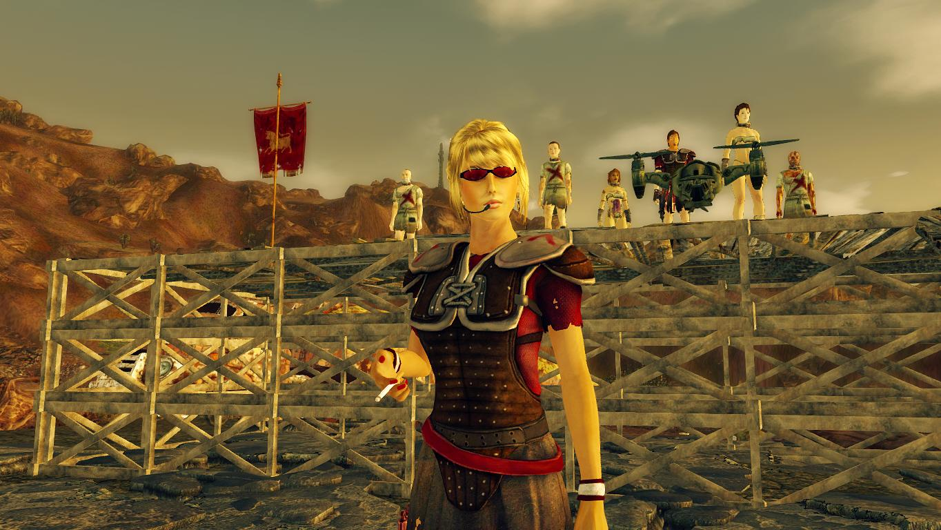 Легион.Рынок рабов. - Fallout: New Vegas