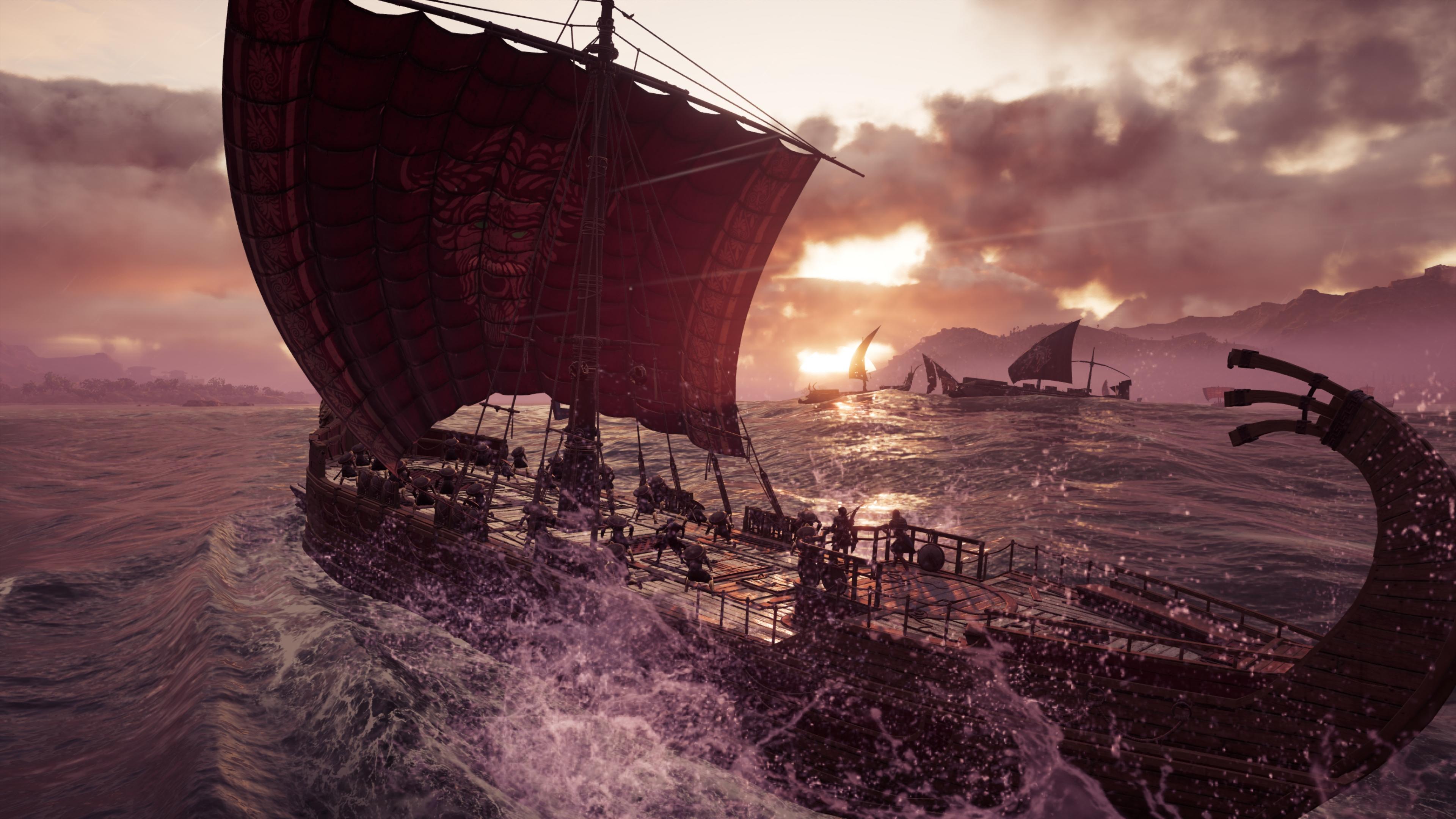 Assassin's Creed: Odyssey скриншот в 4k ультра Nvidia GeForce RTX 2080 - Assassin's Creed: Odyssey NVIDIA Ansel
