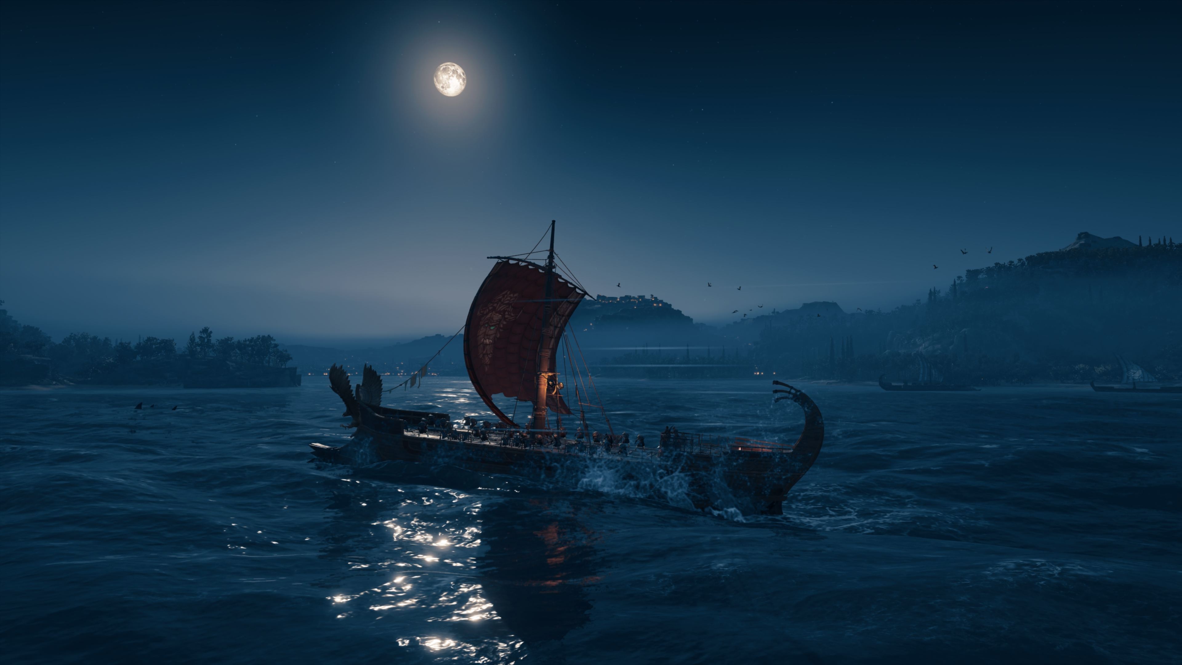 Assassin's Creed: Odyssey скриншот в 4k ультра Nvidia GeForce RTX 2080 - Assassin's Creed: Odyssey NVIDIA Ansel