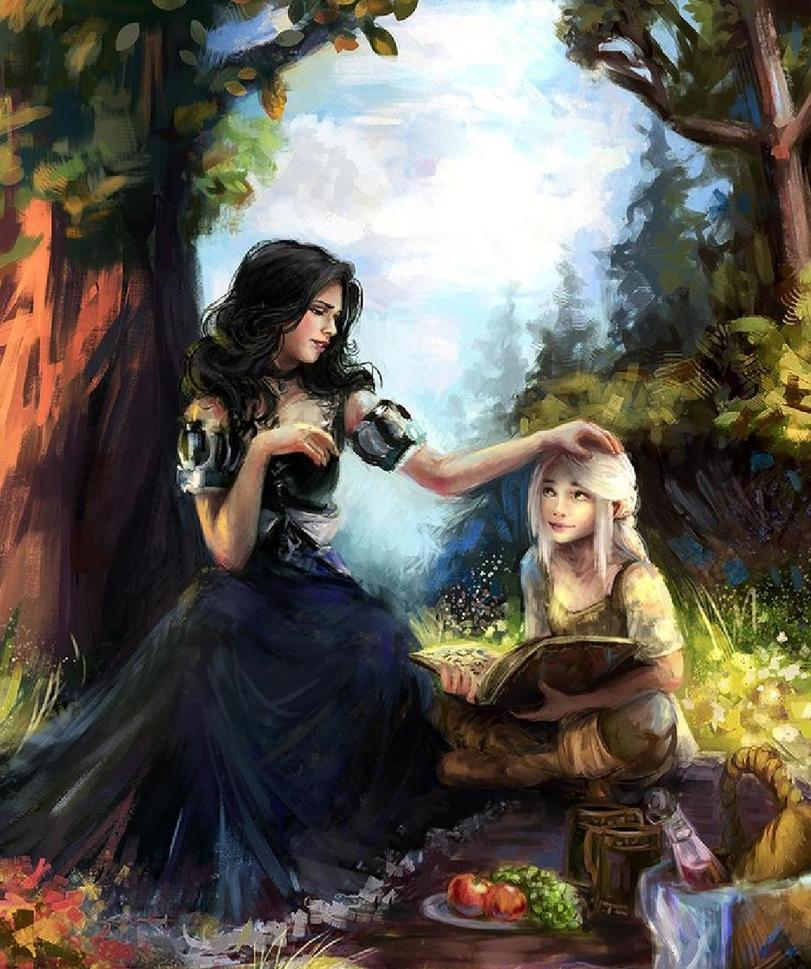 witcher-фэндомы-Ciri-Witcher-Персонажи-5443293.jpeg - Witcher 3: Wild Hunt, the