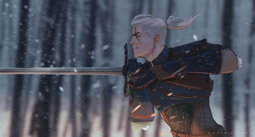 The-Witcher-фэндомы-Геральт-Witcher-Персонажи-5446751.jpeg - Witcher 3: Wild Hunt, the