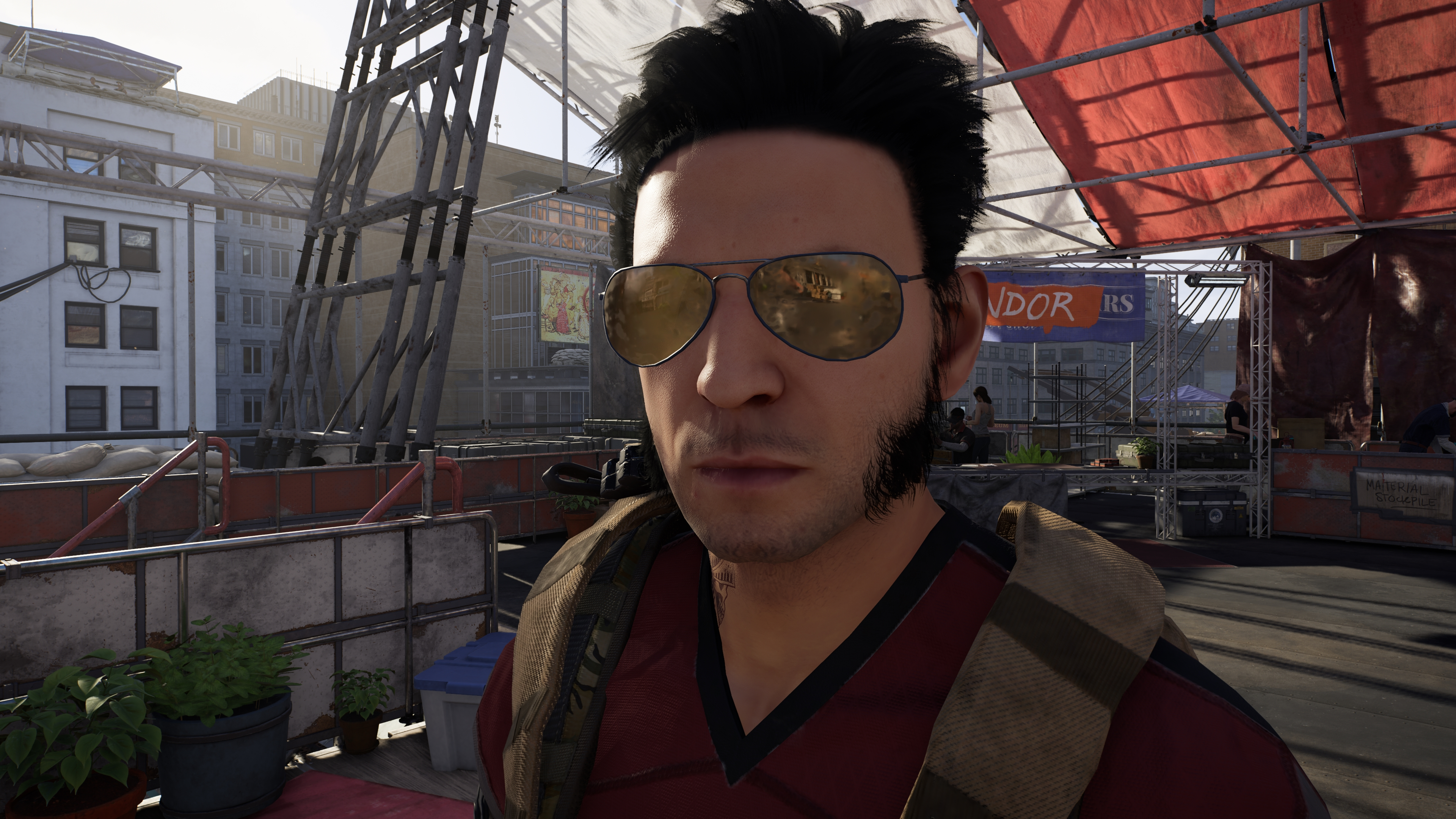 Tom Clancy's The Division 2 скриншот в 4k ультра Nvidia GeForce RTX 2080 - Tom Clancy's The Division 2